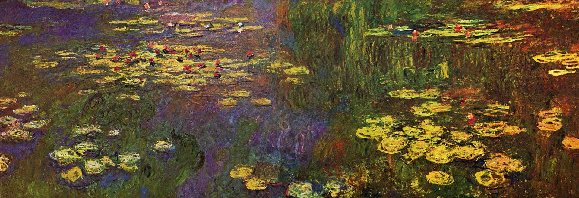 Les Nymphéas, Claude Monet Huile sur toile, Musée de l'Orangerie - Paris