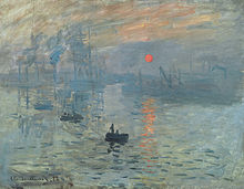 Impression, soleil levant. Claude Monet (1872)
