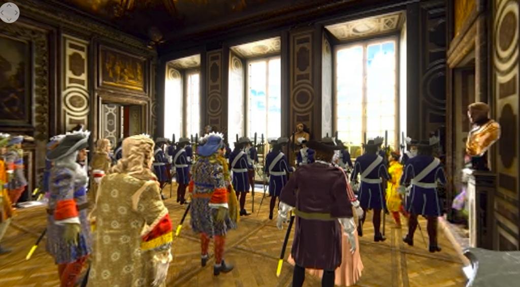 Visite virtuelle de Versailles - Bals des Ifs