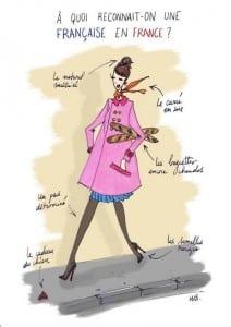 la française et la mode