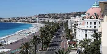 La plage Nice